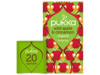TE PUKKA WILD APPLE CINNAMON 20/PK