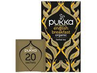 TE PUKKA ELEGANT ENGLISH BREAKFAST 20/PK