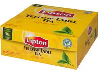 TE LIPTON POSE YELLOW LABEL 100/PK.