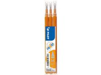 REFILL PILOT FRIXION 0,7MM ORANGE 3/PK